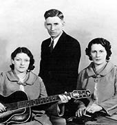 Country music singers The Carter Family