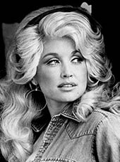 Country music singer Dolly Parton