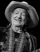 Country music singer Willie Nelson
