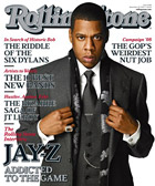 Jay-Z on Rolling Stone magazine cover