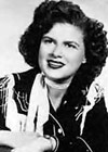 Country music singer Patsy Cline