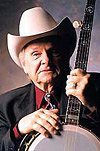 Country music singer Ralph Stanley