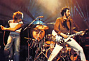 The Who live on stege