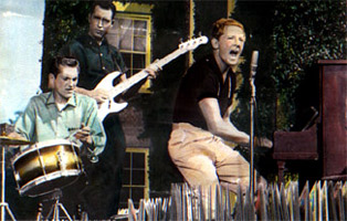 Jerry Lee Lewis and band