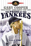 The Pride of the Yankees movie DVD cover