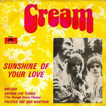 Sunshine Of Your Love record sleve