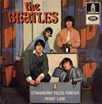 Strawberry Fields Forever record sleve