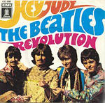 Hey Jude - Beatles single cover