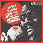 Dock Of The Bay - Otis Redding single cover