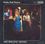 Honky Tonk Women single cover