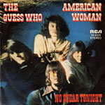 American Woman single cover