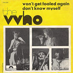 Won't Get Fooled Again single cover
