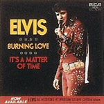 Burning Love - Elvis Presley single cover