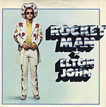 Rocket Man single cover