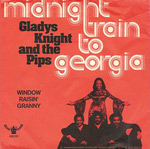 Midnight Train To Georgia 45 cover