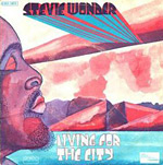 Living For the City 45 cover