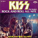Rock and Roll All Nite single cover