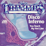 Disco Inferno single cover