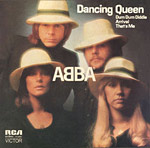 Dancing Queen single cover