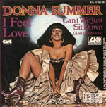 I Feel Love - Donna Summer single cover