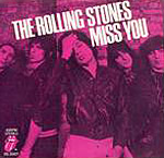 Miss You - Rolling Stones single cover