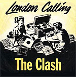 London Calling - The Clash single cover