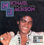 Rock With You - Michael Jackson single cover