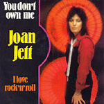I Love Rock 'n' Roll by Joan Jett and The Blackhearts single cover