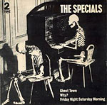 Ghost Town - Specials single cover