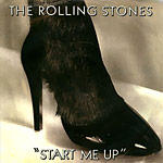 Start Me Up - Rolling Stones single cover