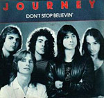 Don't Stop Believin' - Journey single cover