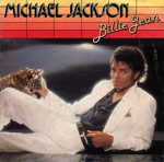 Billie Jean by Michael Jackson single cover