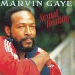 Sexual Healing - Marvin Gaye single cover