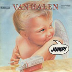 Jump - Van Halen single cover