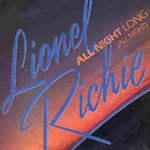All Night Long - Lionel Richie single cover