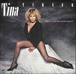 What's Love Got To Do With It? - Tina Turner single cover