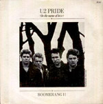 Pride (In The Name Of Love) - U2 single cover
