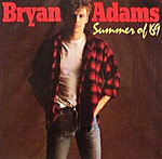 Summer Of '69 - Bryan Adams single cover