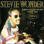 I Just Called To Say I Love You - Stevie Wonder single cover