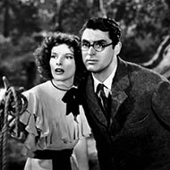 scene from Bringing Up Baby