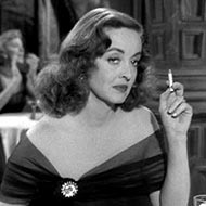 scene from All About Eve with Bette Davis