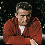 scene from Rebel Without a Cause with James Dean