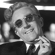 scene from Dr. Strangelove with Peter Sellers