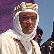 scene from Lawrence of Arabia with Peter O'Toole