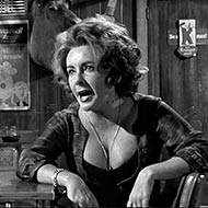 scene from Who's Afraid of Virginia Woolf? with Elizabeth Taylor