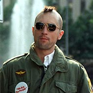 scene from Taxi Driver with Robert De Niro