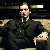 scene from The Godfather Part II with Al Pacino
