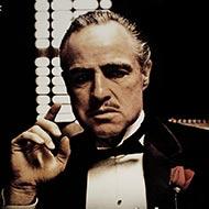 scene from The Godfather with Marlon Brando