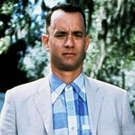 scene from Forrest Gump with Tom Hanks