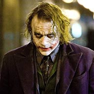scene from The Dark Knight with Heath Ledger